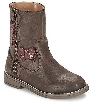 Citrouille et Compagnie VARINDA girls's Mid Boots in Brown