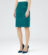 Reiss Lake Pocket-Front Pencil Skirt