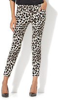 New York & Co. The Audrey Ankle Pant - Leopard Print - Tall