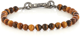 Bottega Veneta Tiger-eye stone bracelet