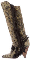 Isabel Marant Printed Knee-High Boots