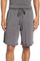 Daniel Buchler Men's Washed Cotton Blend Lounge Shorts