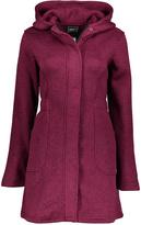 CB Sports Beetroot Heather Jacquard Fleece Long Jacket