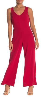 Marina Sleeveless Back Cutout Jumpsuit