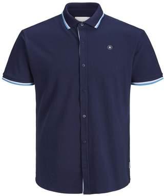 Jack and Jones Ebti Short Sleeve Slim Fit Shirt