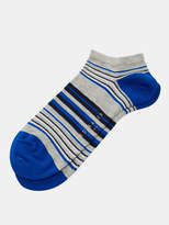Striped Cotton Trainer Socks