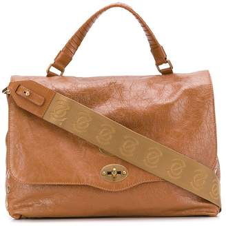 Zanellato worn-out effect tote bag