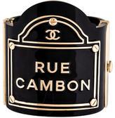 Chanel Rue Cambon Flagship Cuff Bracelet