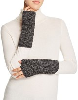 Aqua Marl Metallic Armwarmer Gloves