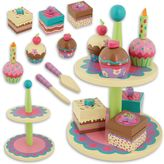 Stephen Joseph Cupcake Wooden Play Sweet Set