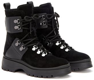 Aquatalia Starla Weatherproof Suede & Leather Boot