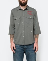 Levi's Tab Twill Shirt Custom