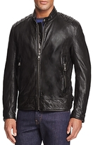 Andrew Marc Boarder Leather Moto Jacket