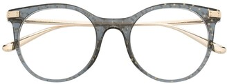 Dolce & Gabbana Eyewear Wayfarer-Frame Glasses