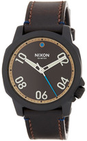 Nixon Men&s Ranger 40 Leather Watch
