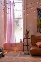 Urban Outfitters Black Cord Globe String Lights