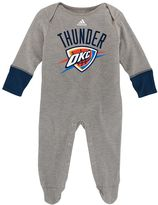 adidas Baby Oklahoma City Thunder Footed Bodysuit
