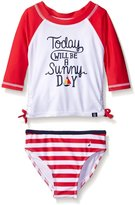 Nautica Sportswear Kids Baby Today Will Be A Sunny Day Rashguard Set