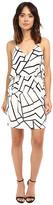 Adelyn Rae Woven Sheath Dress w/ Back Strap Detail