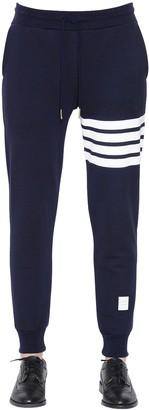 Thom Browne Intarsia Stripes Cotton Sweatpants