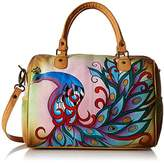 Anuschka Handpainted Leather 8067-RPK Large Satchel