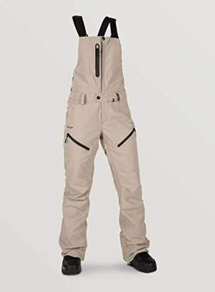Volcom Women's Elm Gore-tex Bib Overall Snowpant - - X-Small