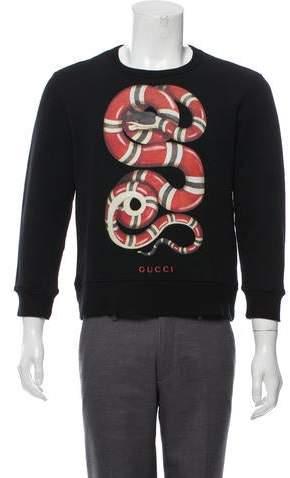 9ce35a287da Gucci Black Men's Sweatshirts - ShopStyle