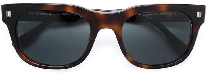 Ermenegildo Zegna square sunglasses