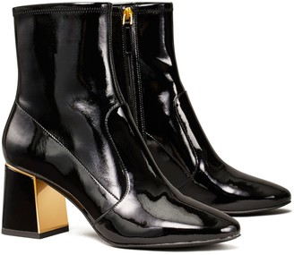 Tory Burch Gigi Patent High-Heel Stretch Boot