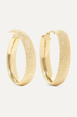 Carolina Bucci Florentine 18-karat Gold Hoop Earrings - one size