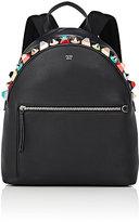 Fendi Women's Embellished Backpack-BLACK