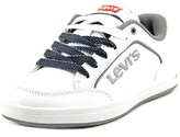 Levi's Aart Novelty Youth Round Toe Synthetic White Sneakers.