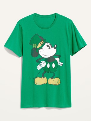 Old Navy Disney Mickey Mouse St. Patrick's Day Gender-Neutral Tee for Adults