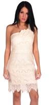 Romeo & Juliet Couture One Shoulder Lace Dress