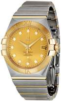 Omega Men's 123.20.35.20.58.001 Constellation Champagne Dial Watch