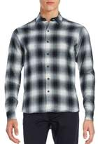 Raleigh Denim Plaid Cotton Shirt