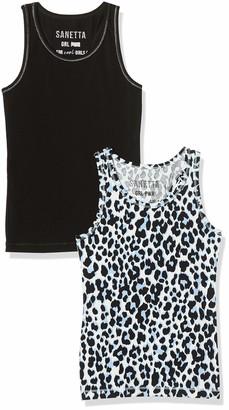 Sanetta Girl's Unterhemd Doppelpack Vest