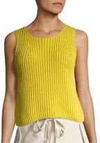 Vince Chunky Ribbed Tank Top