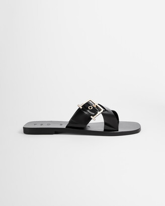 Ted Baker JOSEEI Buckle Detail Flat Sandal