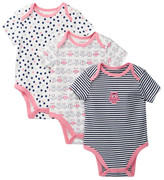 Offspring Owl Bodysuit 3-piece Set (Baby Girls)