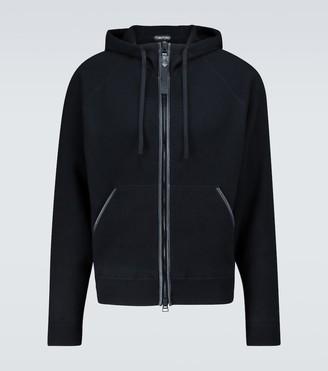Tom Ford Zipped cashmere sweatshirt