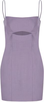 Zeynep Arcay Cutout Wool Dress