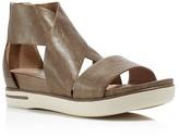 Eileen Fisher Sport Metallic Open Toe Sandals