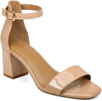 Aerosoles Elba Block Heel Dress Sandals Women Shoes