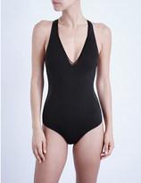 Stella McCartney V-neck neoprene swimsuit