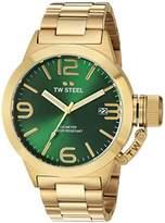 TW Steel Men's CB221 Analog Display Quartz Yellow Watch