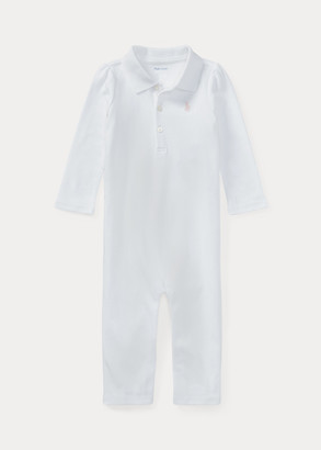 Ralph Lauren Cotton Polo Coverall