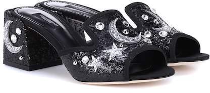 Dolce & Gabbana Abaya 60 embellished mules