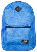 New Balance New Mens Blue Nb Prints Polyester Backpack Backpacks