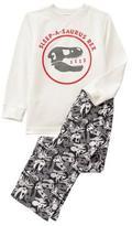 Crazy 8 Sleep-A-Saurus Rex 2-Piece Pajama Set